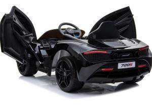 Masinuta electrica McLaren 720S 90W 12V PREMIUM #Negru [3]