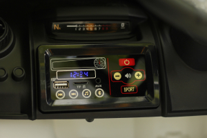 Masinuta electrica McLaren 720S 90W 12V PREMIUM #Alb7