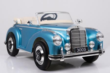 Masinuta electrica albastra pentru copii Mercedes 300S [7]