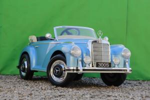 Masinuta electrica Mercedes 300S 70W 12V PREMIUM #Albastru3