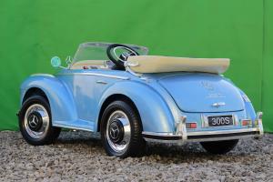 Masinuta electrica Mercedes 300S 70W 12V PREMIUM #Albastru5