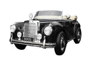 Masinuta electrica Mercedes 300S 70W 12V PREMIUM #Negru0