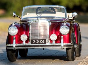 Masinuta electrica Mercedes 300S PREMIUM #Rosu3
