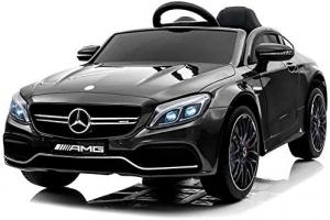 Masinuta electrica Mercedes C63 12V PREMIUM #Negru0