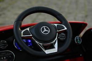 Masinuta electrica Mercedes C63 12V PREMIUM #Rosu10