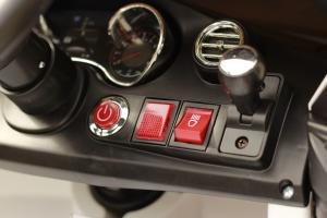 Masinuta electrica Mercedes C63 12V STANDARD #Alb7
