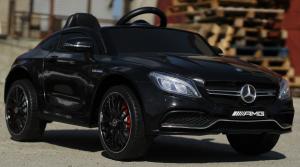 Masinuta electrica Mercedes C63 12V PREMIUM #Negru1