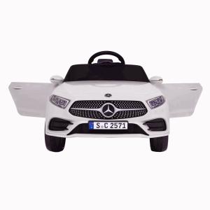 Masinuta electrica Mercedes CLS350 50W 12V PREMIUM #Alb3