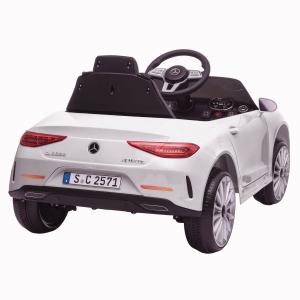 Masinuta electrica Mercedes CLS350 50W 12V PREMIUM #Alb9