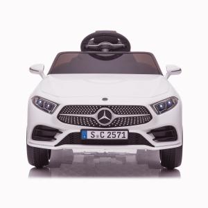 Masinuta electrica Mercedes CLS350 50W 12V PREMIUM #Alb7