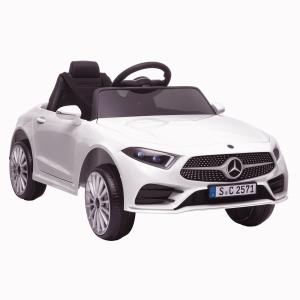 Masinuta electrica Mercedes CLS350 50W 12V PREMIUM #Alb0