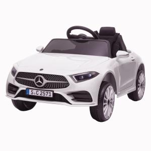 Masinuta electrica Mercedes CLS350 50W 12V PREMIUM #Alb4