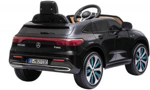 Masinuta electrica Mercedes EQC400 70W 12V STANDARD #Negru [5]