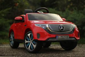 Masinuta electrica Mercedes EQC400 70W 12V STANDARD #Rosu1