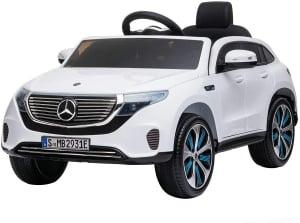 Masinuta electrica Mercedes EQC400 70W 12V STANDARD #Alb0