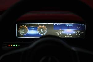 Masinuta electrica Mercedes EQC400 70W 12V STANDARD #Alb8