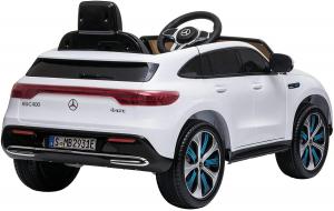 Masinuta electrica Mercedes EQC400 70W 12V STANDARD #Alb2