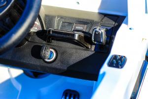 Masinuta electrica Mercedes G55 AMG 12V CU ROTI MOI #Alb9