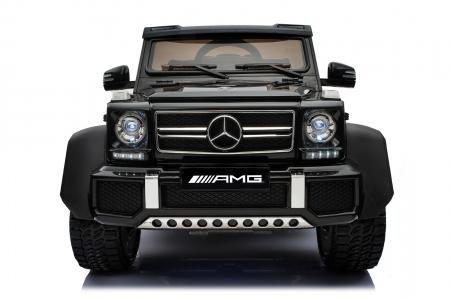 Masinuta electrica copii Mercedes G63 6x6 270W, neagra [19]