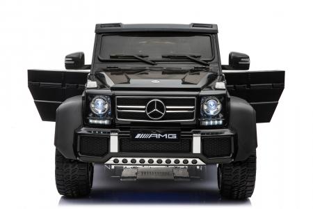 Masinuta electrica copii Mercedes G63 6x6 270W, neagra [20]
