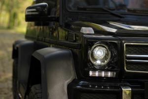 Masinuta electrica Mercedes G63 6x6 270W DELUXE #Negru16