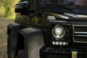 Masinuta electrica copii Mercedes G63 6x6 270W, neagra [15]