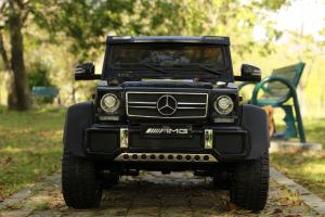 Masinuta electrica copii Mercedes G63 6x6 270W, neagra [3]