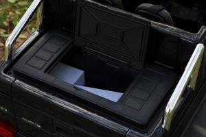 Masinuta electrica copii Mercedes G63 6x6 270W, neagra [12]