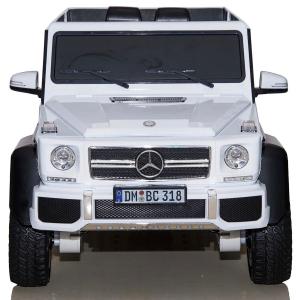 Masinuta electrica Mercedes G63 6x6 Premium cu 4 motoare #ALB1