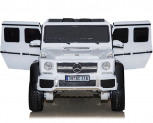 Masinuta electrica Mercedes G63 6x6 Premium cu 4 motoare #ALB8