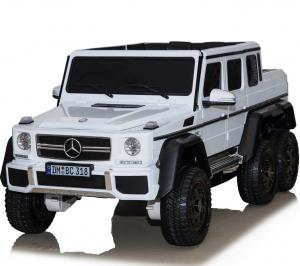 Masinuta electrica Mercedes G63 6x6 Premium cu 4 motoare #ALB2