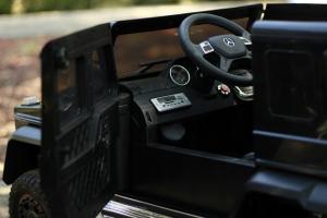 Masinuta electrica Mercedes G63 6x6 Premium cu 4 motoare #Negru8