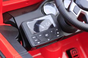 Masinuta electrica Mercedes G63 6x6 Premium cu 6 motoare #Rosu9