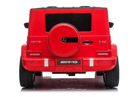 Masinuta electrica copii Mercedes G63 XXL, 180W, rosu [4]