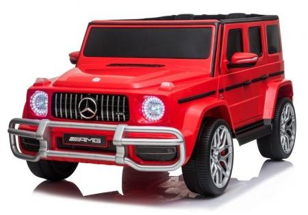 Masinuta electrica copii Mercedes G63 XXL, 180W, rosu [0]