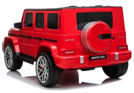 Masinuta electrica copii Mercedes G63 XXL, 180W, rosu [3]