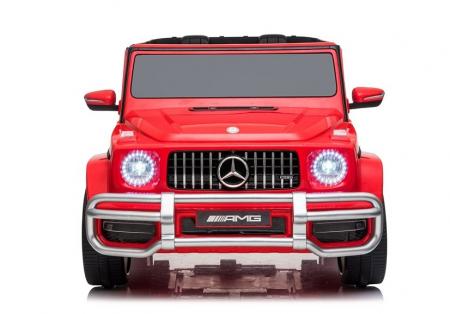 Masinuta electrica copii Mercedes G63 XXL, 180W, rosu [2]