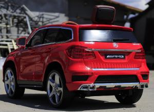 Masinuta electrica Mercedes GL63 4x4 DELUXE #Rosu5