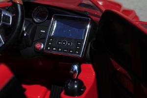 Masinuta electrica Mercedes GL63 4x4 DELUXE #Rosu8
