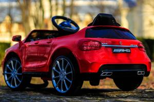 Masinuta electrica Mercedes GLA 45 2x30W STANDARD #Rosu5