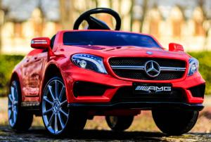Masinuta electrica Mercedes GLA 45 2x30W STANDARD #Rosu1