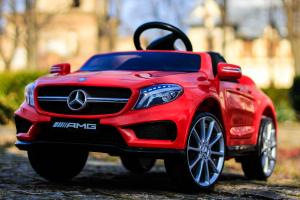 Masinuta electrica Mercedes GLA 45 2x30W STANDARD #Rosu3