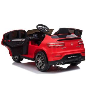 Masinuta electrica Mercedes GLC 63s 2x35W 12V STANDARD #Rosu4