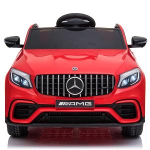 Masinuta electrica Mercedes GLC 63s 2x35W 12V STANDARD #Rosu0