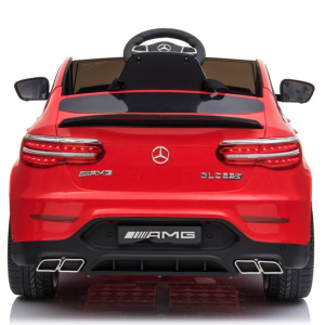 Masinuta electrica Mercedes GLC 63s 2x35W 12V STANDARD #Rosu3