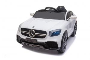 Masinuta electrica Mercedes GLC Coupe 50W 12V STANDARD #Alb [5]