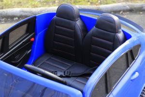 Masinuta electrica Mercedes GLC63s AMG 4x4 180W PREMIUM #Albastru7