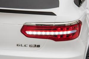 Masinuta electrica Mercedes GLC63s AMG 4x4 STANDARD #Alb4