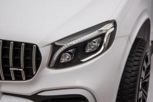 Masinuta electrica Mercedes GLC63s AMG 4x4 STANDARD #Alb5
