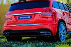 Masinuta electrica Mercedes GLS63 AMG 2x4 12V STANDARD #Rosu12